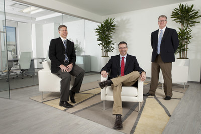 From left to right: Keith Hemmer, Chief Business Development Officer; Jonathan Miko, CEO; Jason Kendall, Director of New Program Development