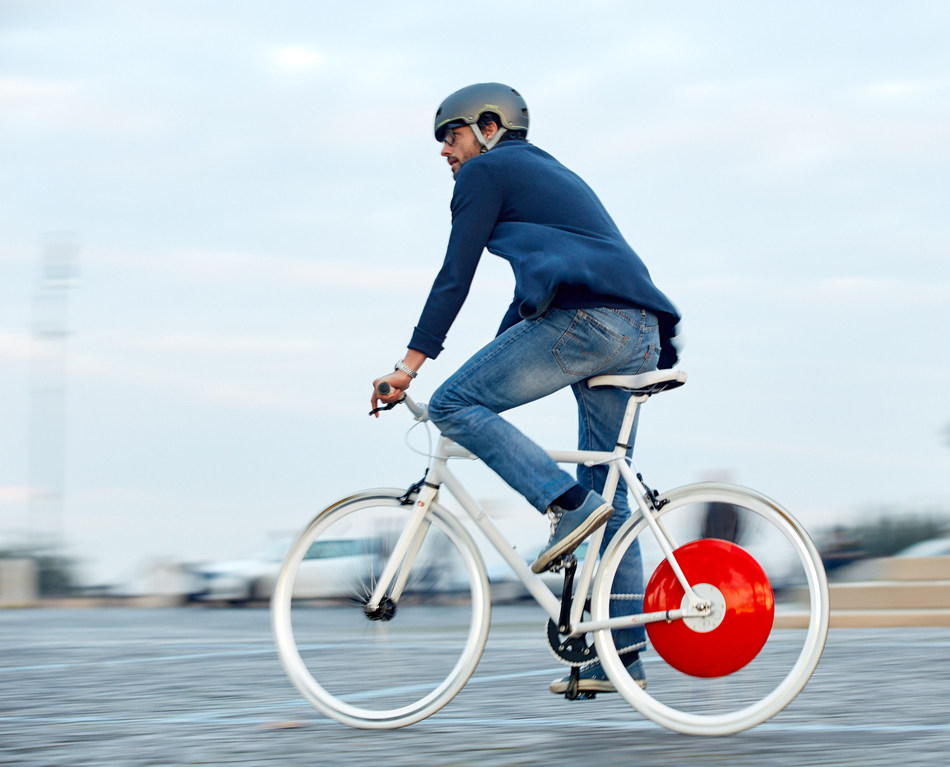 The Copenhagen Wheel. Photo credit: Max Tomasinelli