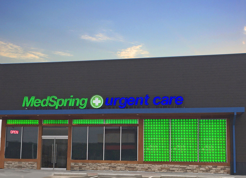 MedSpring Urgent Care is Now Open in SW Fort Worth at Waterside. Open every day 9am to 9pm.