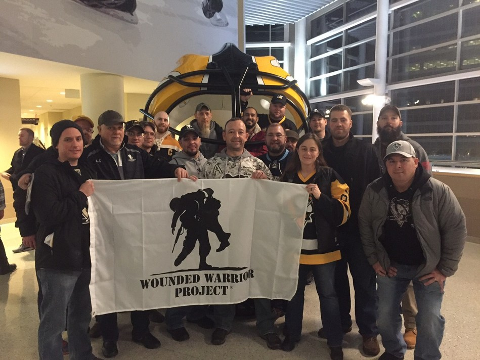 Pittsburgh hockey is on another level when it comes to being competitive. That is what Wounded Warrior Project(R) (WWP) veterans discovered during a recent Penguins game against the Nashville Predators, where they connected over a mutual love for sports and their shared military experiences.
