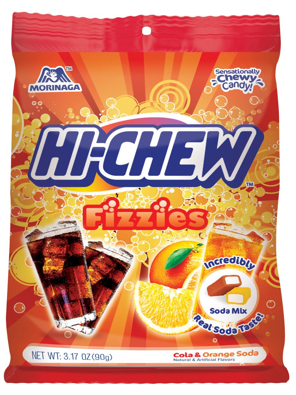 Enjoy a 'pop' of flavor with new Hi-Chew Fizzies.