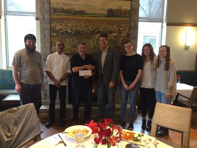 Sodexo Donates $15,000 to the Student Farm at Purdue University