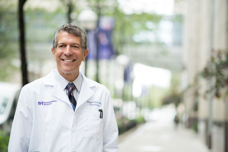 Stuart Rich, MD, a pioneer in the treatment of pulmonary hypertension, is director of the Pulmonary Vascular Disease Program at Northwestern Medicine's Bluhm Cardiovascular Institute.
