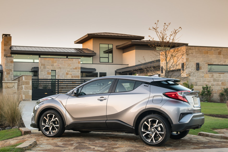 Stylish, athletic, and filled with technology like Toyota Safety Sense P(TM) (TSS-P), the all-new 2018 Toyota C-HR - or, Coupe High-Rider - represents a leap forward in design, manufacturing, and engineering for Toyota. When it arrives at dealerships this April, the C-HR will serve as a springboard of excitement and wanderlust for its trendsetting drivers.