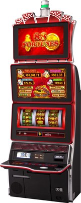 New Mechanical Reel TwinStar Cabinet with 88 Fortunes game