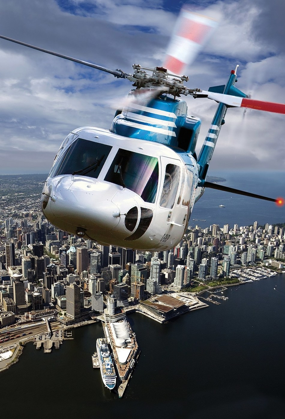 Helijet International has provided 30 years of safe scheduled airline and charter operations with Sikorsky S-76 helicopters. Helijet's fleet of 11 Sikorsky S-76 helicopters primarily performs scheduled passenger transport, air medical services and corporate charter services