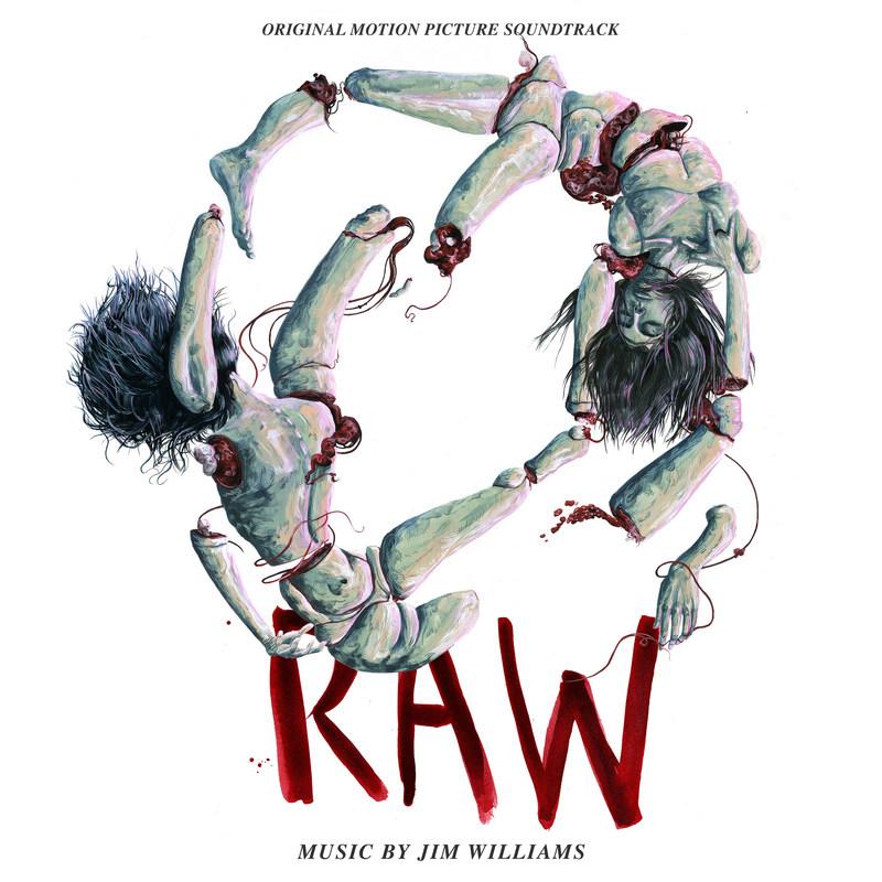 RAW Original Motion Picture Soundtrack Cover Art