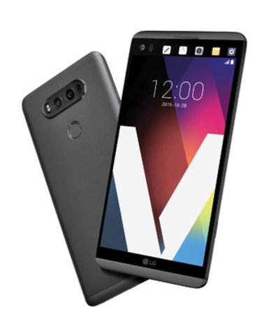 Le populaire téléphone intelligent V20 de LG sera offert par Bell, FIDO et Rogers (Groupe CNW/LG Electronics Canada)