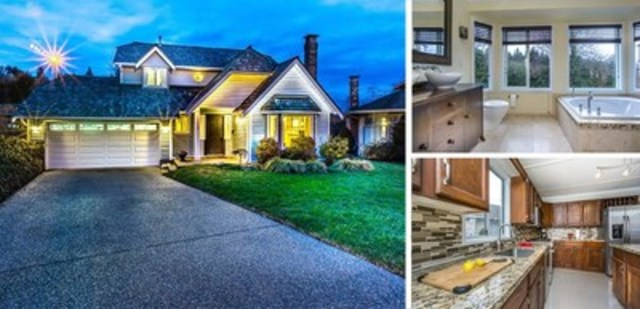 1359 Pierce Place, Coquitlam, BC – $1,088,000, Bedrooms: 4, Bathrooms: 3, Living Area: 1,758 sq. ft., Lot Size: 7,487 sq. ft. (CNW Group/Royal LePage Real Estate Services)