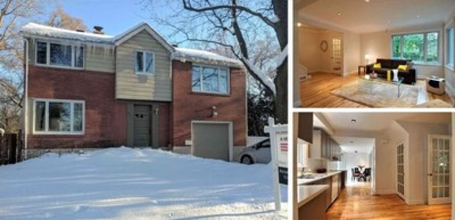 3050 Avenue Kirkfield, Montreal, QC – $995,000, Bedrooms: 4, Bathrooms: 1+1, Living Area: 2,610 sq. ft., Lot Size: 5295,8 sq. ft. (CNW Group/Royal LePage Real Estate Services)