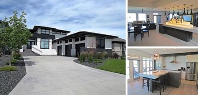 129, prom. Autumnview, à Winnipeg (Man.) – 990 000 $, Chambres à coucher: 4, Salles de bains: 4, Espace habitable: 2 621 pi(2) (243 m(2)), Taille du lot: 10 496 pi(2) (1 016 m(2)) (Groupe CNW/Services immobiliers Royal LePage)