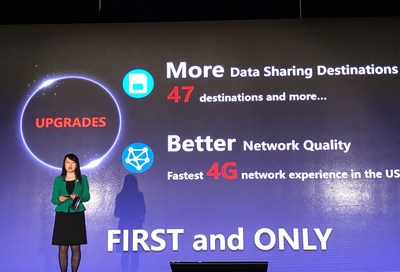"""Lisong Zhou, Executive Vice President of CUG, said, the """"CUniq"""" service launched in America this time will have three plans including Share Plan, Local Plan and Visitor Plan, appealing to global businesspersons, American local users and tourists respectively."""