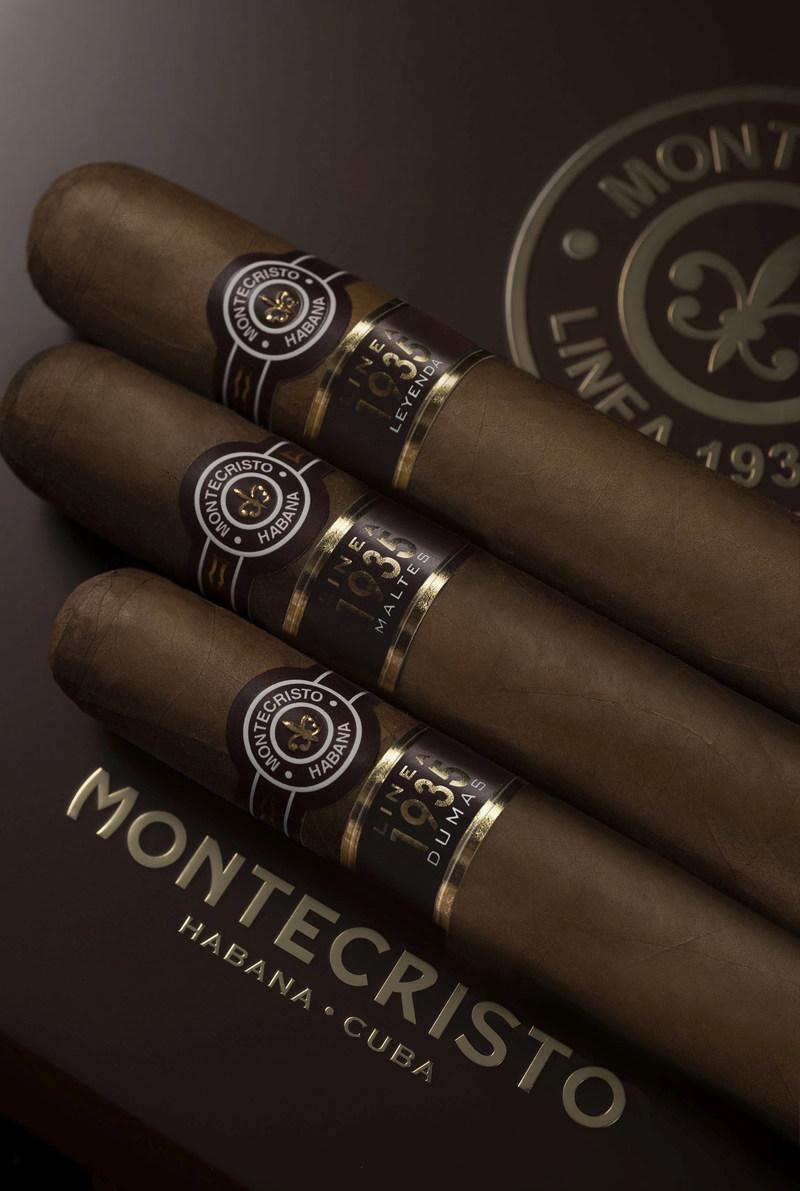 Habanos Montecristo Linea 1935 cigars (PRNewsFoto/HABANOS SA)
