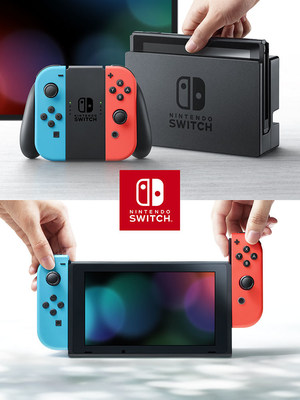 Pictured is the Nintendo Switch portable gaming system, which uses a Cypress 802.11ac Wi-Fi and Bluetooth combination solution to enable a robust multiplayer user experience.