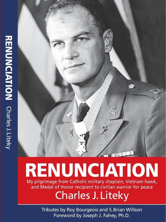 This new book has been published posthumously by friends of the U.S. Army chaplain who renounced his Medal of Honor and worked for peace.