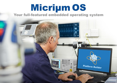 Enhanced Micrium OS and new Platform Builder tool from Silicon Labs accelerate embedded design.