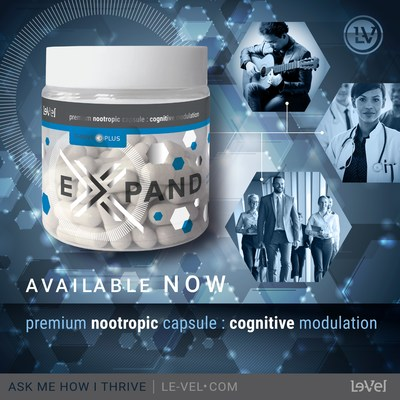 Introducing Expand, a premium nootropic capsule from Le-Vel that supports and optimizes mental capabilities