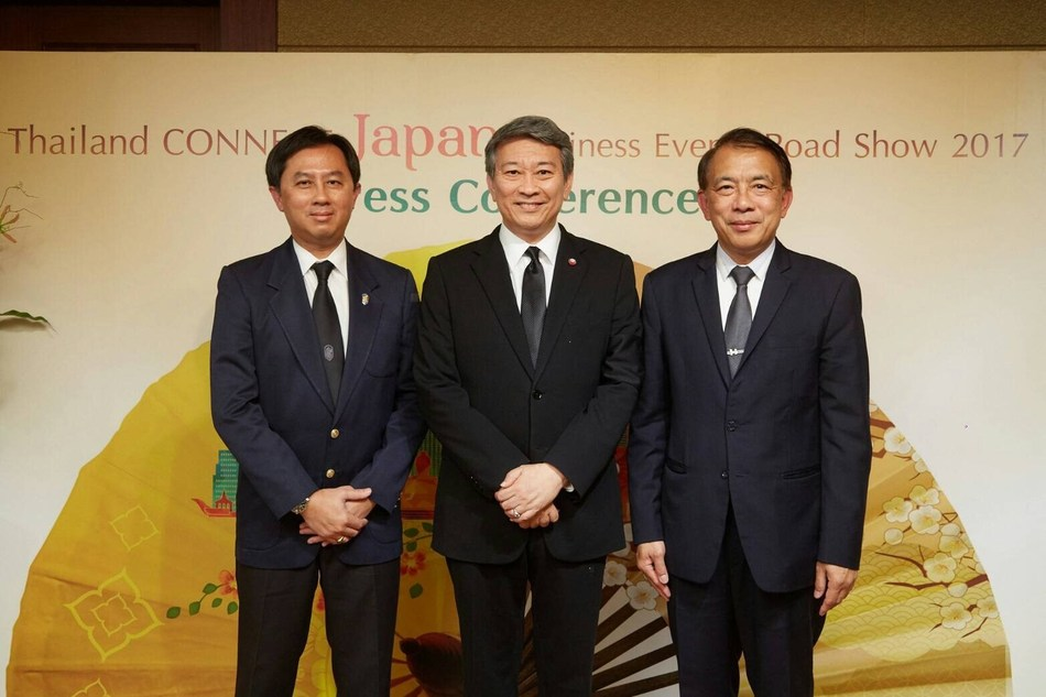 THAILAND ANNOUNCES STRATEGIC BLUEPRINTS TO KICK-START A NEW DECADE TIES WITH JAPANESE MICE INDUSTRY : The country targets Japanese MICE travellers from the new future industries, while tailor -designed strategies are launched to drive the market's growth at 5 per cent in this year. Marking a 10 years milestone in the Japanese's MICE market, the country enjoys record of 417,392 travellers and 34,788 million baht in revenue (JPY 111,321 million*) over the decade.