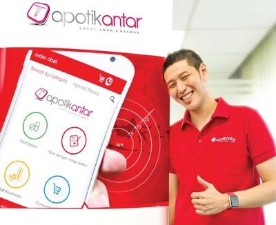 Apotik Antar mobile services