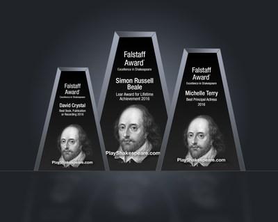 The Falstaff Awards recognize extraordinary achievement in Shakespeare