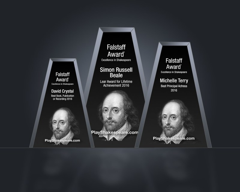 The Falstaff Awards recognize extraordinary achievement in Shakespeare