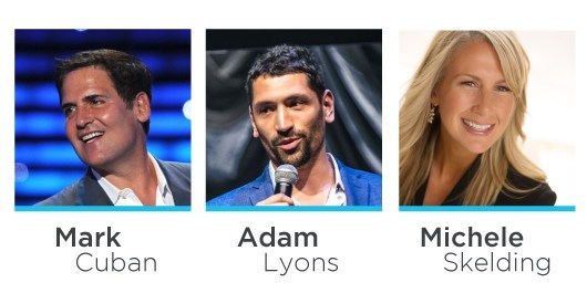 Mark Cuban, Adam Lyons and Michele Skelding to speak at SXSW March 12