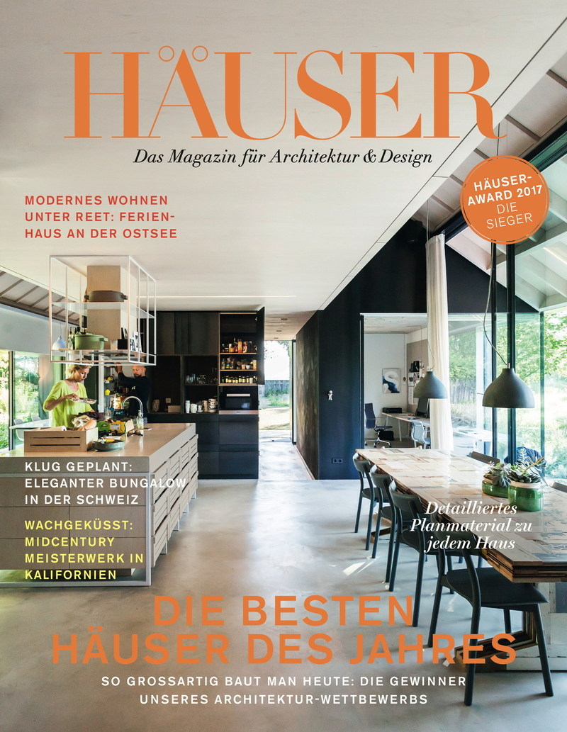 Cover HAEUSER issue 2/17 - incl. the winners of this year's HÄUSER AWARD (PRNewsFoto/Gruner+Jahr, HAEUSER)
