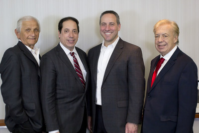 Left to Right: Eugene Lieberstein, David A. Einhorn, Executive Director Russell S. Ascher, and Richard B. Klar