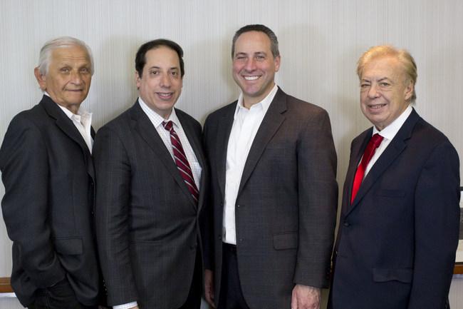 Left to Right: Eugene Lieberstein, David A. Einhorn, Executive Director Russell S. Ascher, and Richard B. Klar