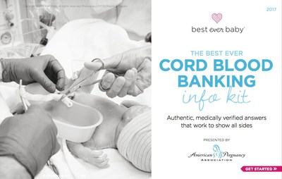 Best Ever Baby Launches First Evidence Based Educational Guide to Cord Blood Banking