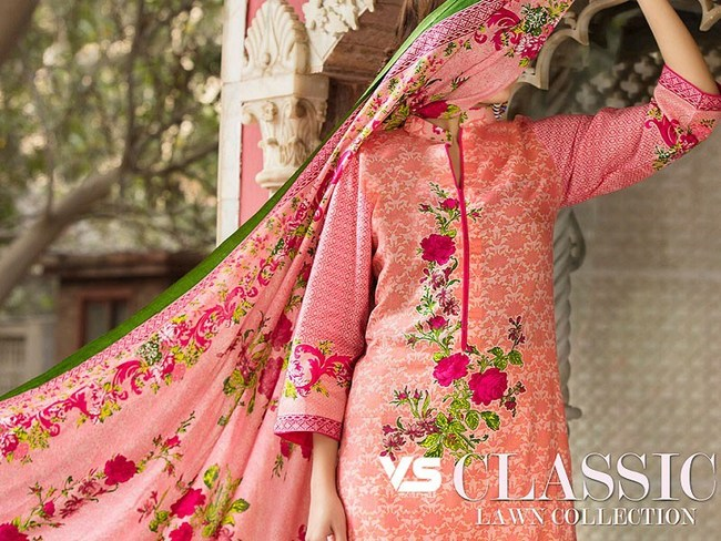 VS Textile Classic Lawn Collection Volume 1 2017
