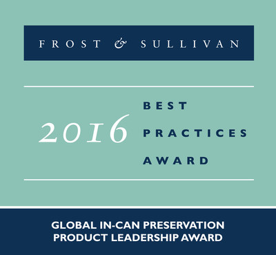 Frost & Sullivan recognizes Lonza with the 2016 Global Product Leadership Award.