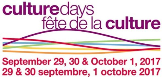 CULTURE DAYS (CNW Group/CULTURE DAYS)