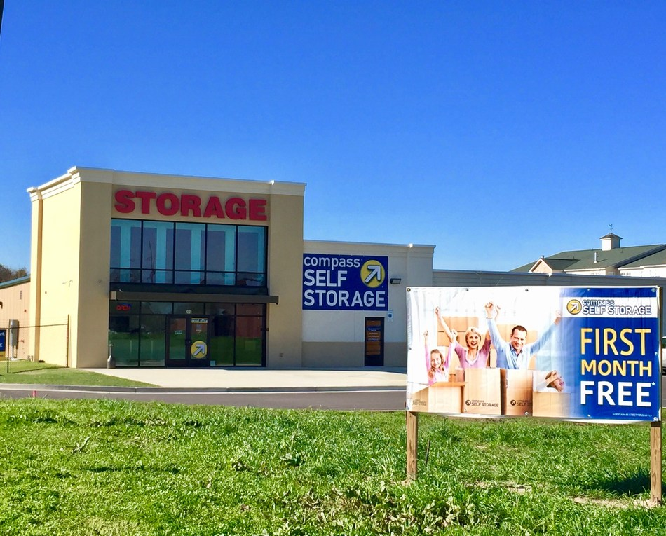 Compass Self Storage Acquired Three Store Portfolio of Self Storage Centers in Montgomery, AL.