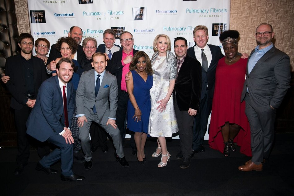 Broadway stars belted their favorite hits during the Pulmonary Fibrosis Foundation's 7th annual Broadway Belts for PFF! fundraiser at the New York City's Edison Ballroom on February 27. Hosted by Broadway star and comedienne, Julie Halston, the benefit in Memory of Michael Kuchwara, raised a record-breaking $250,000 .