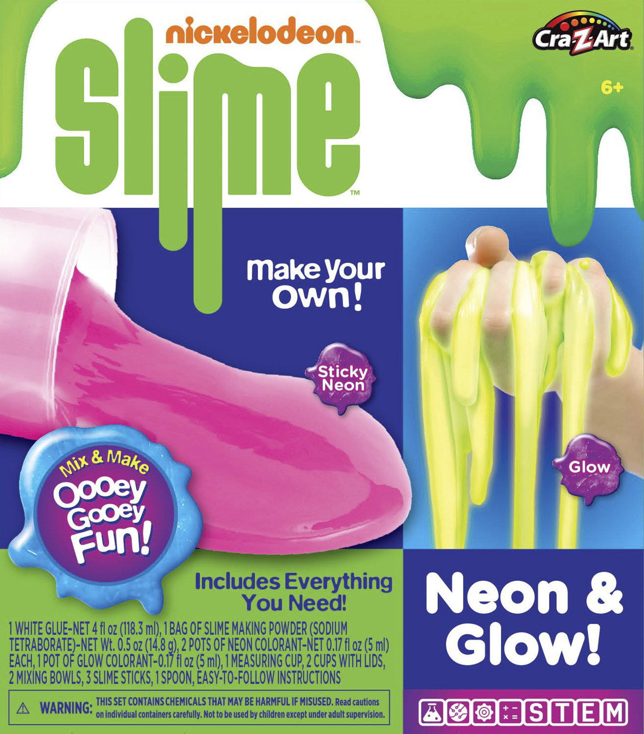 cra z art nickelodeon slime instructions pdf