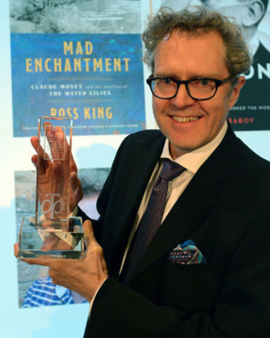 2017 RBC Taylor Prize winner Ross King (Photo Tom Sandler) (CNW Group/RBC Taylor Prize)