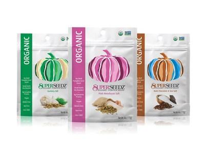 Three new organic flavors from SuperSeedz