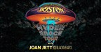 BOSTON Welcomes JOAN JETT & THE BLACKHEARTS Aboard The 2017 Hyper Space Tour New Concert Dates Announced