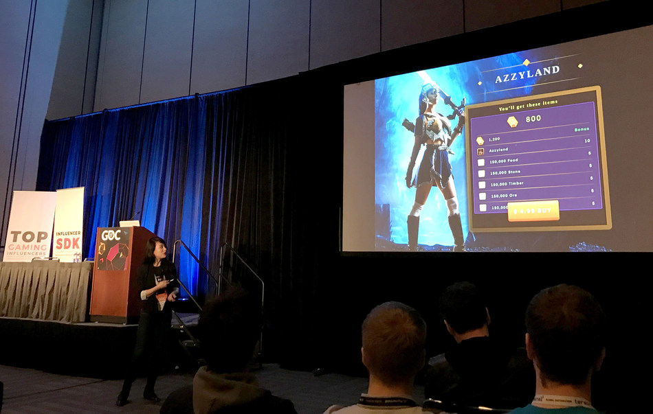 Heidi Yu, CEO of Boostinsider launched Snowball SDK at GDC 2017 to make revenue share easy and fun for mobile game developers and gaming influencers