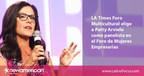 El Foro Empresarial Multicultural del Los Angeles Times escoge a Patty Arvielo como panelista