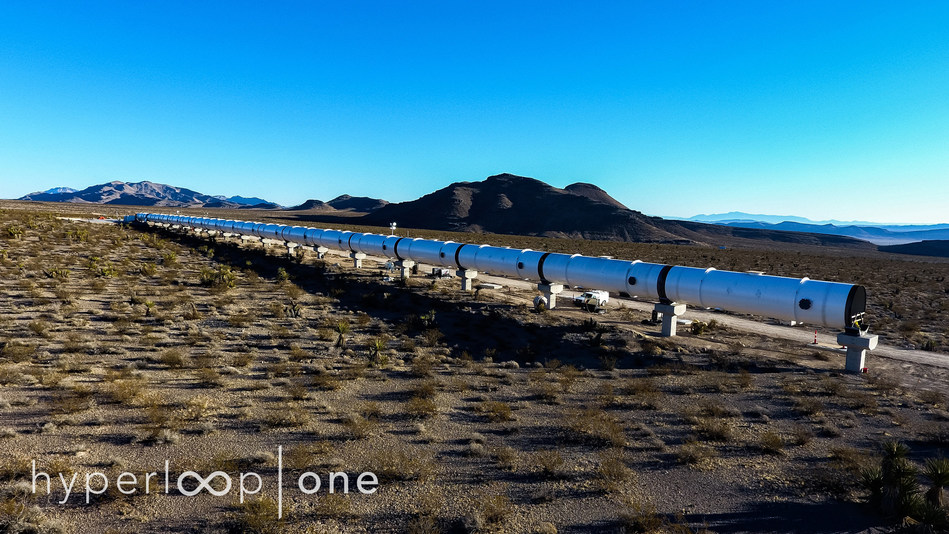 "Hyperloop One is progressing with construction at the world's only full-system and full-scale Hyperloop test site ""DevLoop."""