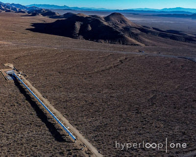 HyperLoop One Releases Images of Their Full-Scale Test Track
