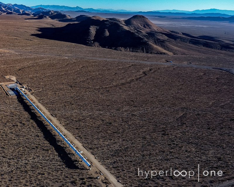 The 500 meter-long DevLoop, which has a diameter of 3.3 meters is located 30 minutes from Las Vegas in the Nevada desert. The company is expected to perform a public trial in the first half of 2017.