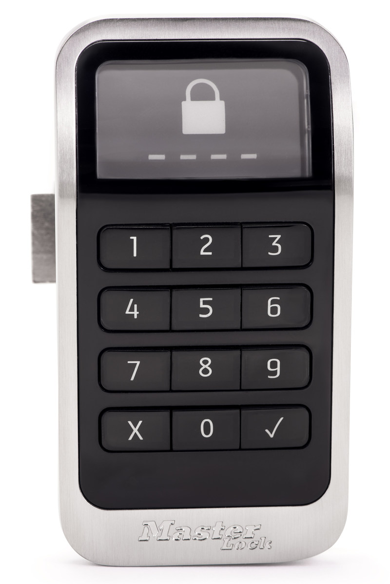 Master Lock, the world leader in locker lock technology, introduces the Electronic Built-In Locker Lock, designed for health clubs, gyms, spas and country clubs, as well as colleges and health care facilities. The lock elevates the experience for both facility managers and users with its modern design, advanced performance and low maintenance.