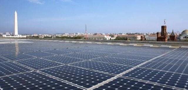 Projet d'énergie solaire développé par Standard Solar. Crédit photo : Standard Solar (Groupe CNW/Gaz Métro)