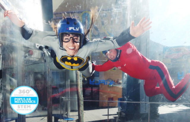 iFLY Hollywood (CNW Group/Westcoast Connection)