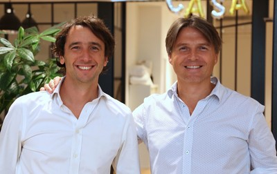 2 French entrepreneurs acquire American website of Home Exchange (PRNewsFoto/GuesttoGuest & Home Exchange)