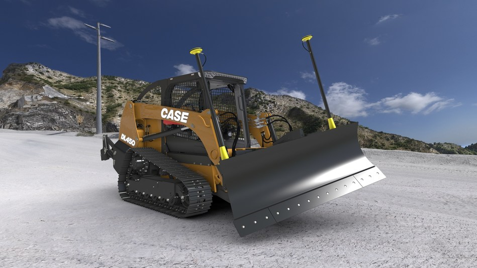 The all-new DL450 Compact Dozer Loader from CASE Construction Equipment - AKA Project Minotaur