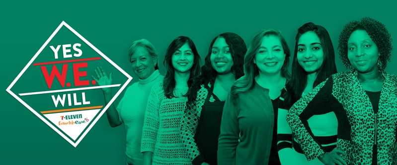 In an effort to increase its own number of female franchisees, 7-Eleven, Inc. is kicking off a franchise give-away contest targeted exclusively to women entrepreneurs.